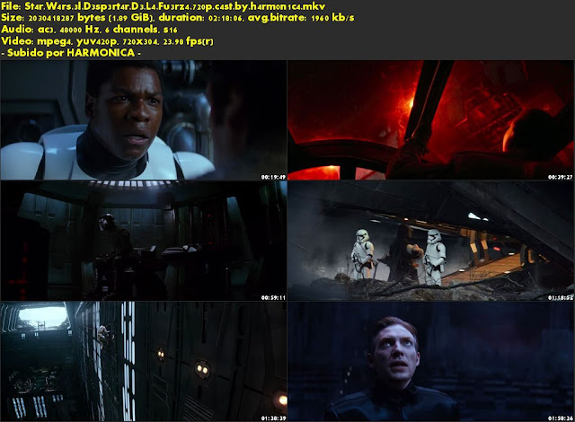 Descargar Star Wars VII: El despertar de la fuerza Castellano por MEGA.