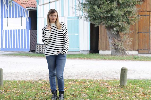 agathe diary blogueuse bordeaux tenue mode marinière