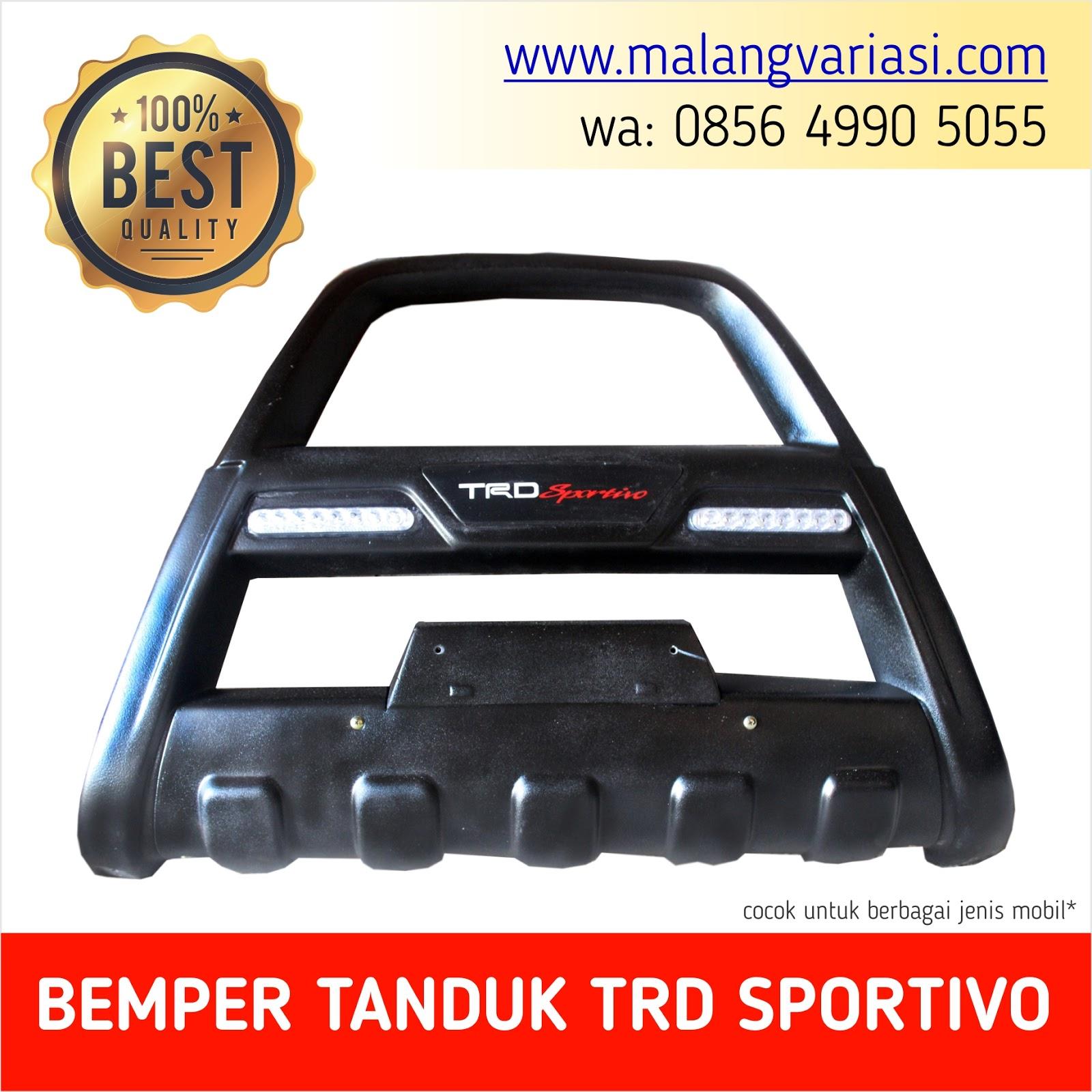 Jual Bemper Tanduk Trd Sportivo Fortuner Pajero Pusat