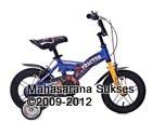 Sepeda Anak United Tractor Rangka Aloi 12 Inci