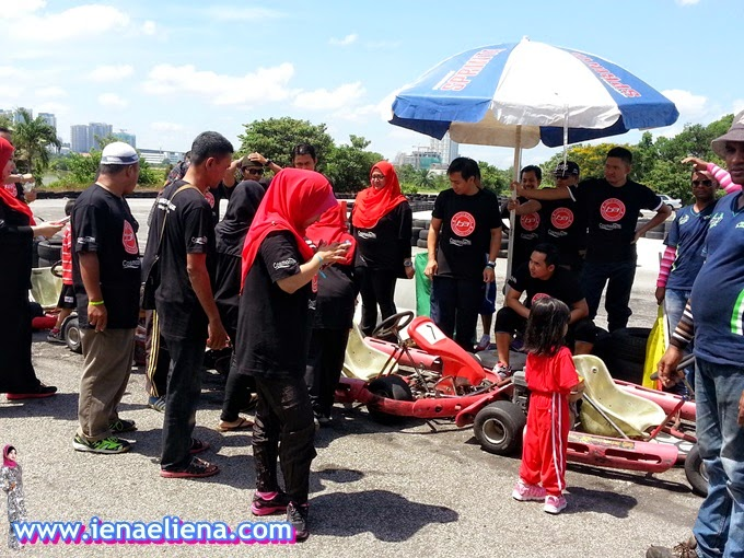 Go-Kart  - KBBA Blogger's Day Out