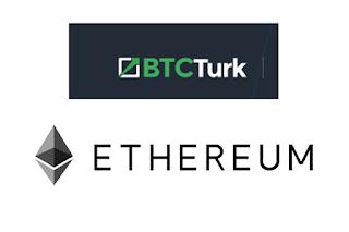"""BTCTÜRK'de """"Ethereum"""" Alım Satımı Başlıyor.."""