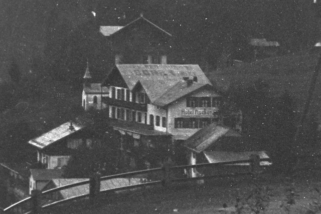 Urfeld Walchensee Hotel Fischer am See - Zeit unklar - um 1915