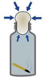 proses vacuum menarik telur kedlm botol