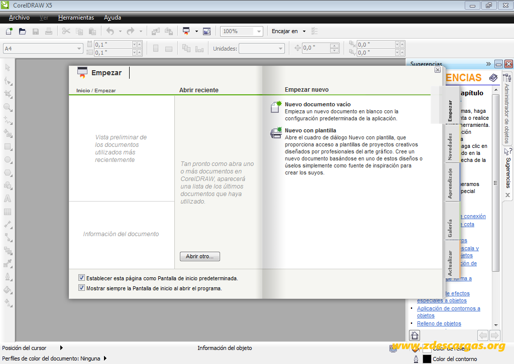 Corel Draw x5 Portable Español