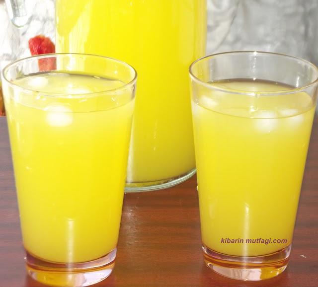 1 limon 1 portakal ile 3 litre limonata