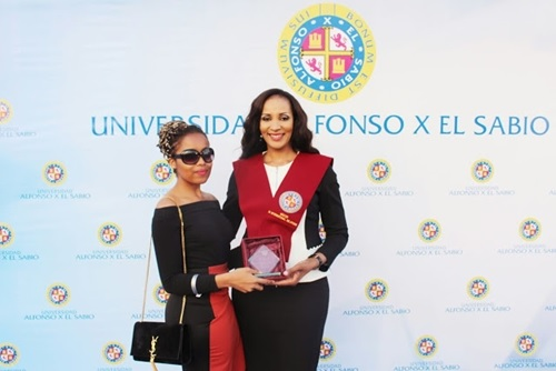 Beauty and Brains: Bianca Ojukwu Graduates with Msc from Spanish University (Photos)