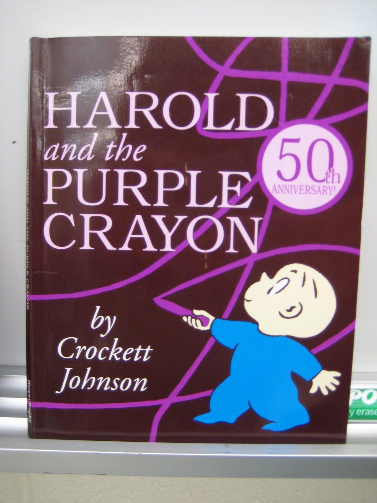 Art Dish Harold And The Purple Crayon