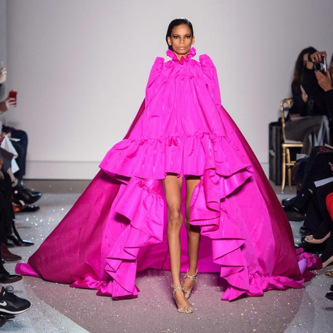 Coleção Giambattista Valli Haute Couture primavera 2019