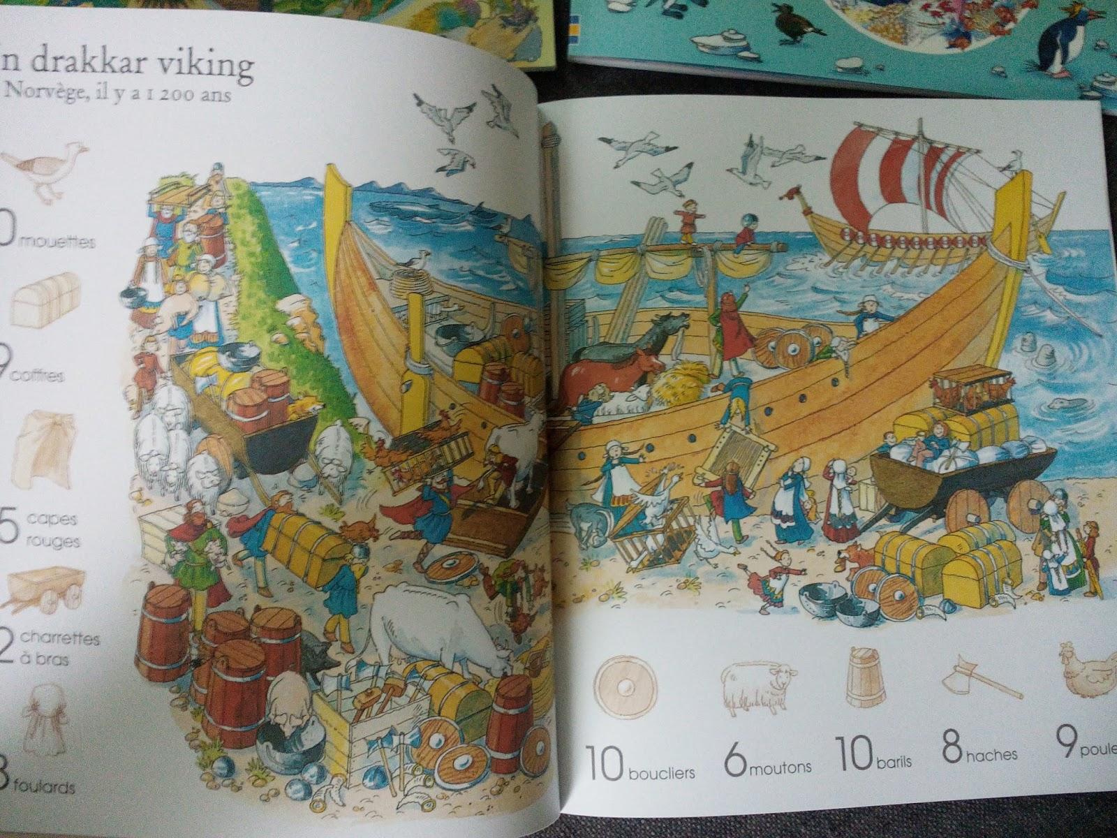 Sous le feuillage: 1001 choses à trouver : En ville - A travers le temps -  Animaux - Dans la mer