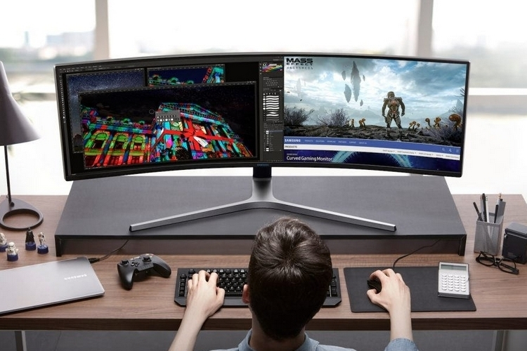 Samsung CHG90 Series Curved 49-Inch Gaming Monitor - Electronic