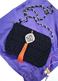 Bolso Crochet con Trapillo