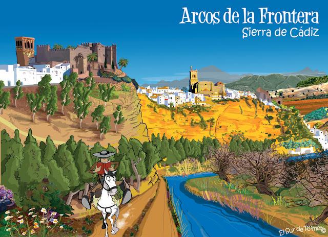 "<img src=""Arcos de la Frontera .jpg"" alt=""Dibujo de Arcos de la Frontera""/>"