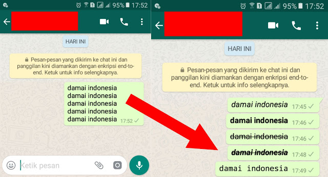 Cara Mengubah Teks Whatsapp Menjadi Tebal dan Miring