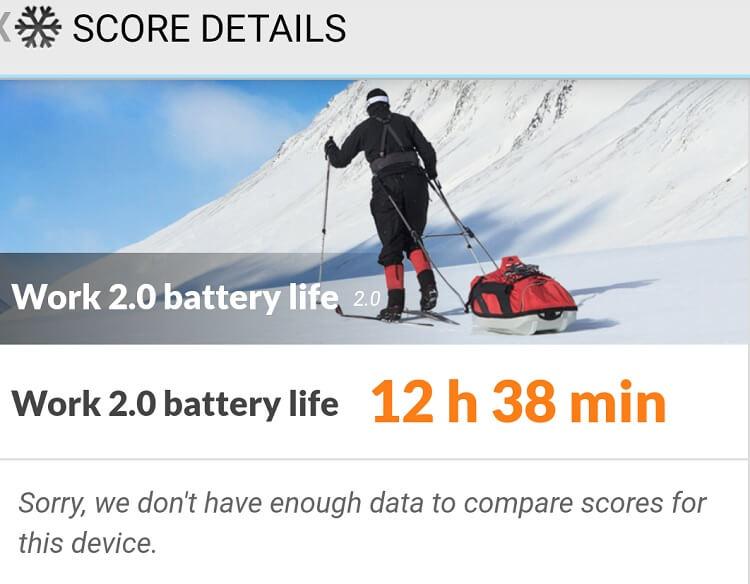 OPPO F11 Pro PCMark Battery Life Test
