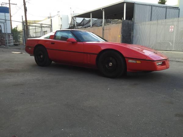 Excellent 1986 Red Corvette C4 | Auto Restorationice
