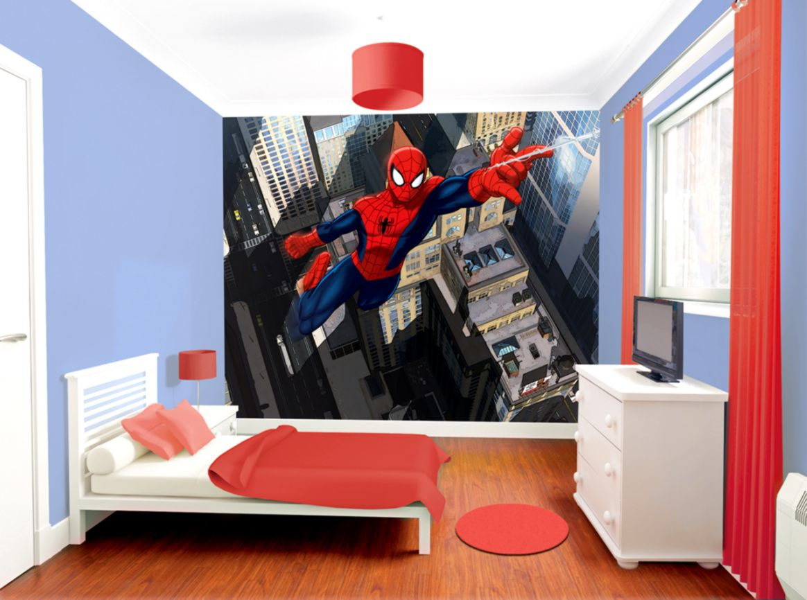 Spiderman Wallpaper For Walls Wallpapers Galery