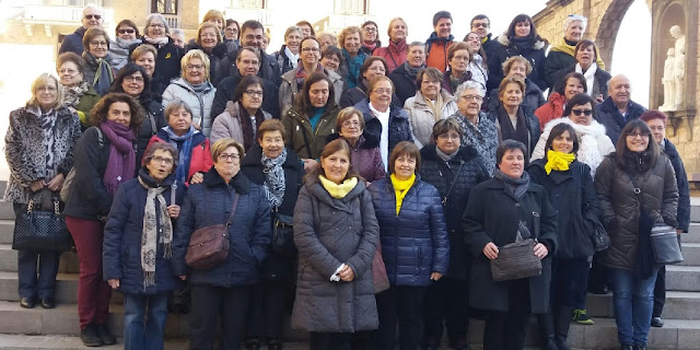 Trobada de Catequistes de la Diòcesi de Sant Feliu de Llobregat a Montserrat
