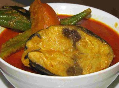 Resepi Ikan Tongkol Masak Kari