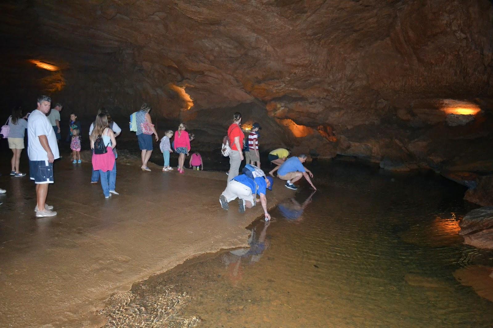 Tuckaleechee Cavern beach