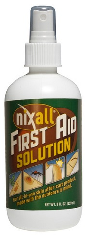 nixall first aid spray