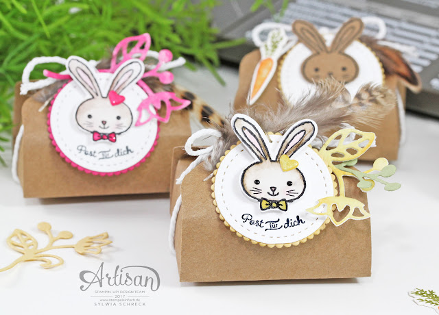Verpackung Ostern Stampin Up - Hasenpost