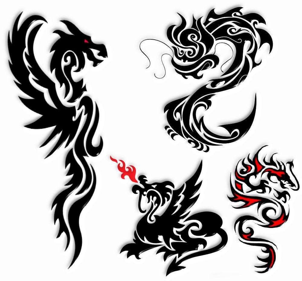 Tatuaż Wzory Tatuaży Tatuaże Wzory Smoki