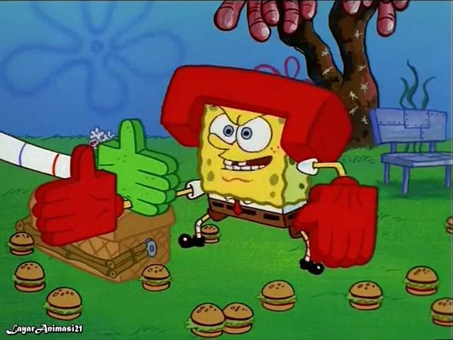 SpongeBob Season 1 Episode 14B - Karate Chopper SD 480p Dub Indo