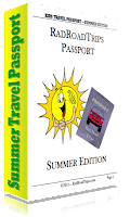 Image: Free Summer Travel Passport for Kids