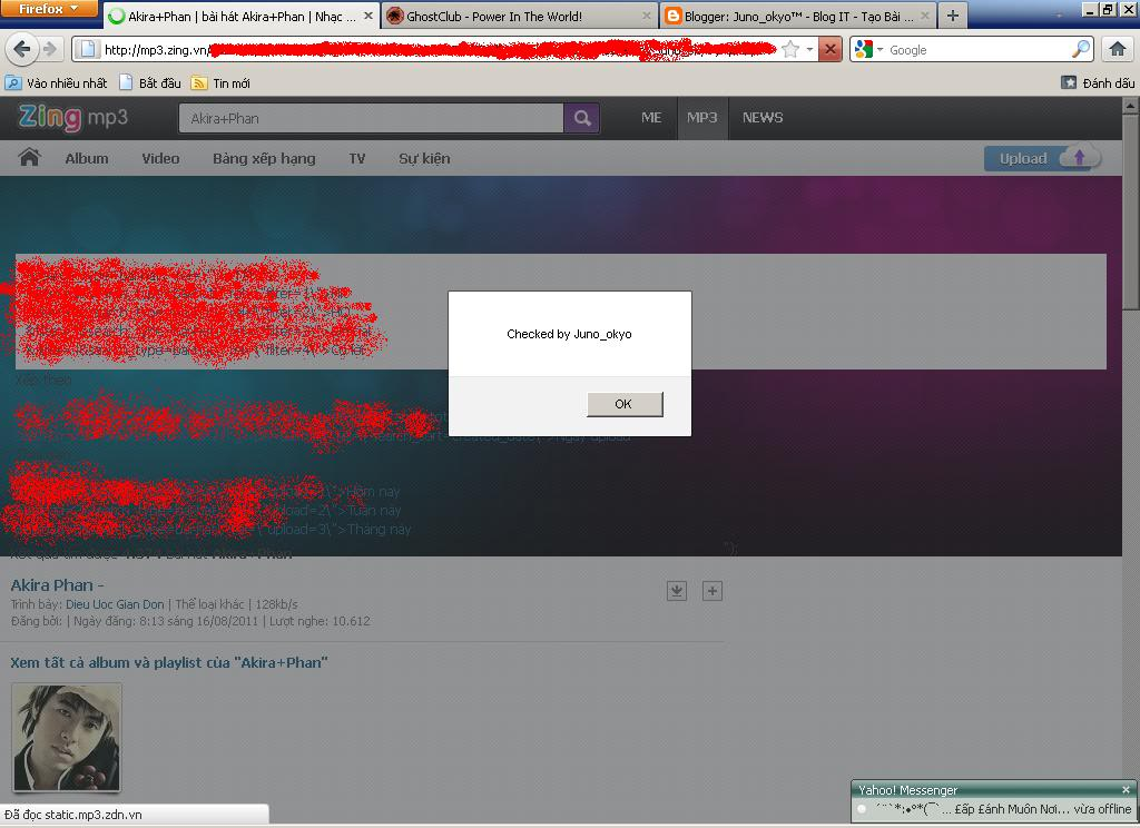mp3-zing-xss-cross-site-scripting