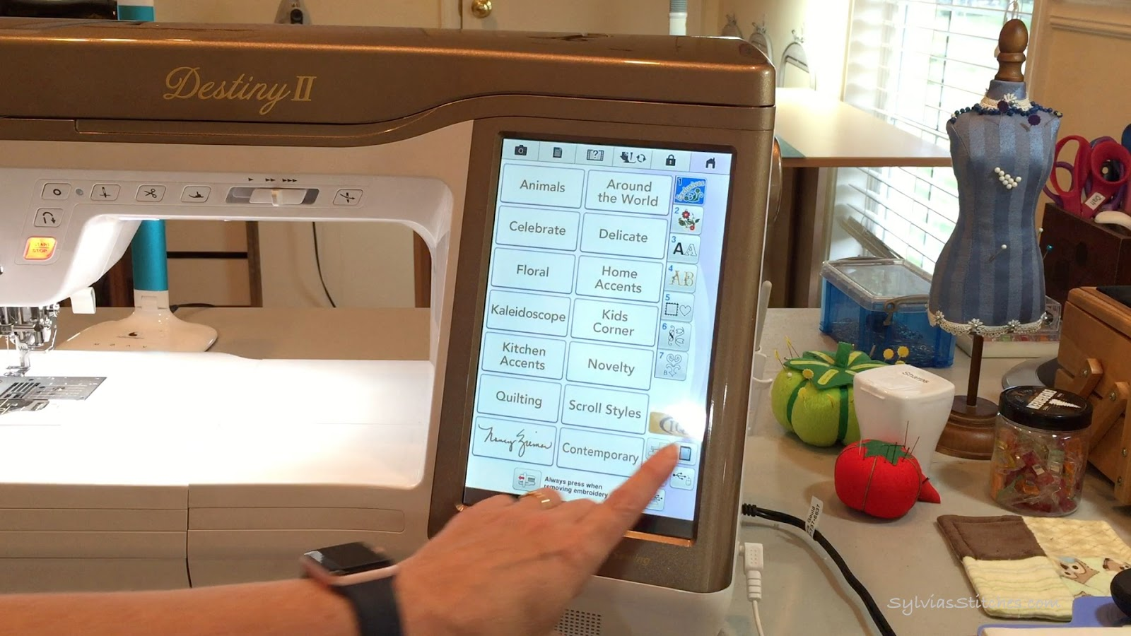 Set up your Embroidery Machine for Wireless Transfer