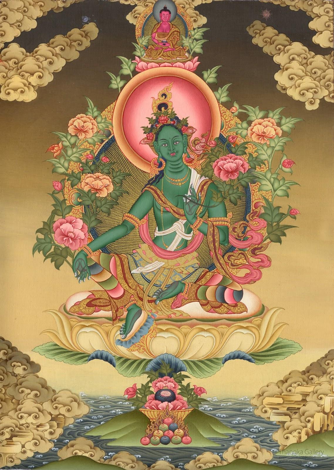 Green Tara 3: The Healing Sphere