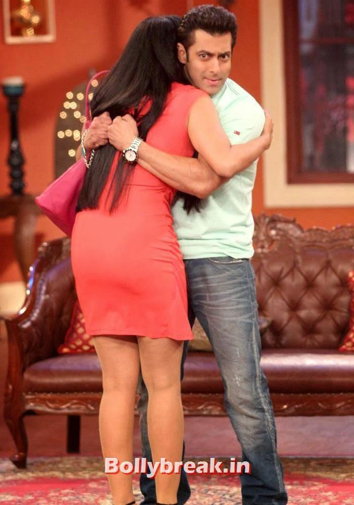 Shweta Tiwari, Salman Khan, Salman Khan & Daisy Shah on Comedy Nights with Kapil