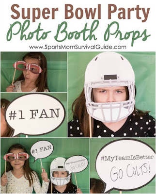 Go team!  What a fun way to get all of the fans at your football party in the mood for the big game.