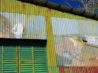 Puriscal Cigar Factory Mural