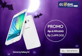 Promo Samsung Galaxy A3 Terbaru 2015