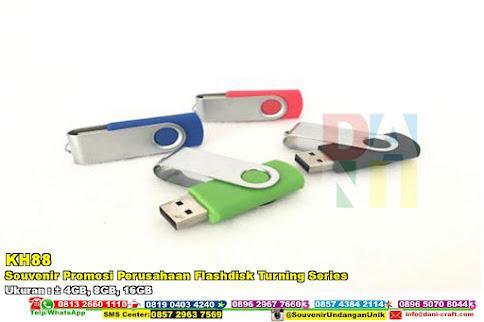 Souvenir Promosi Perusahaan Flashdisk Turning Series