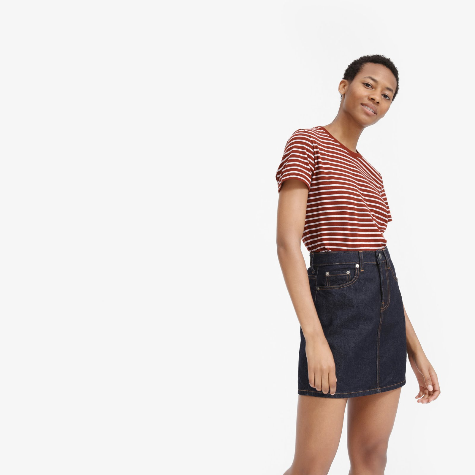 Everlane The Cotton Boxcut Tee