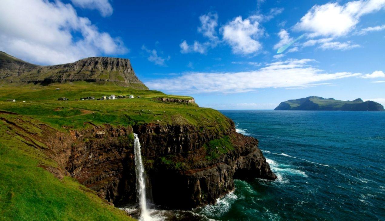 Beautiful Cliff Nature Hd Wallpaper