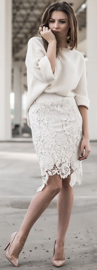 Summer Lace Shift Dress To Try #summeroutfits #Dresses