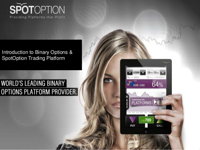 Spotoption binary options