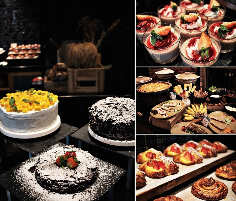 cake fresh bali indonesia mövenpick brunch buffet