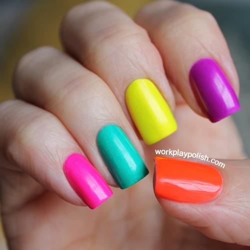 China Glaze Neon Skittles
