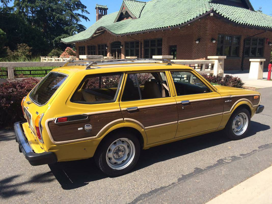 1978 toyota corolla deluxe woody wagon keep cars weird wednesday. Black Bedroom Furniture Sets. Home Design Ideas