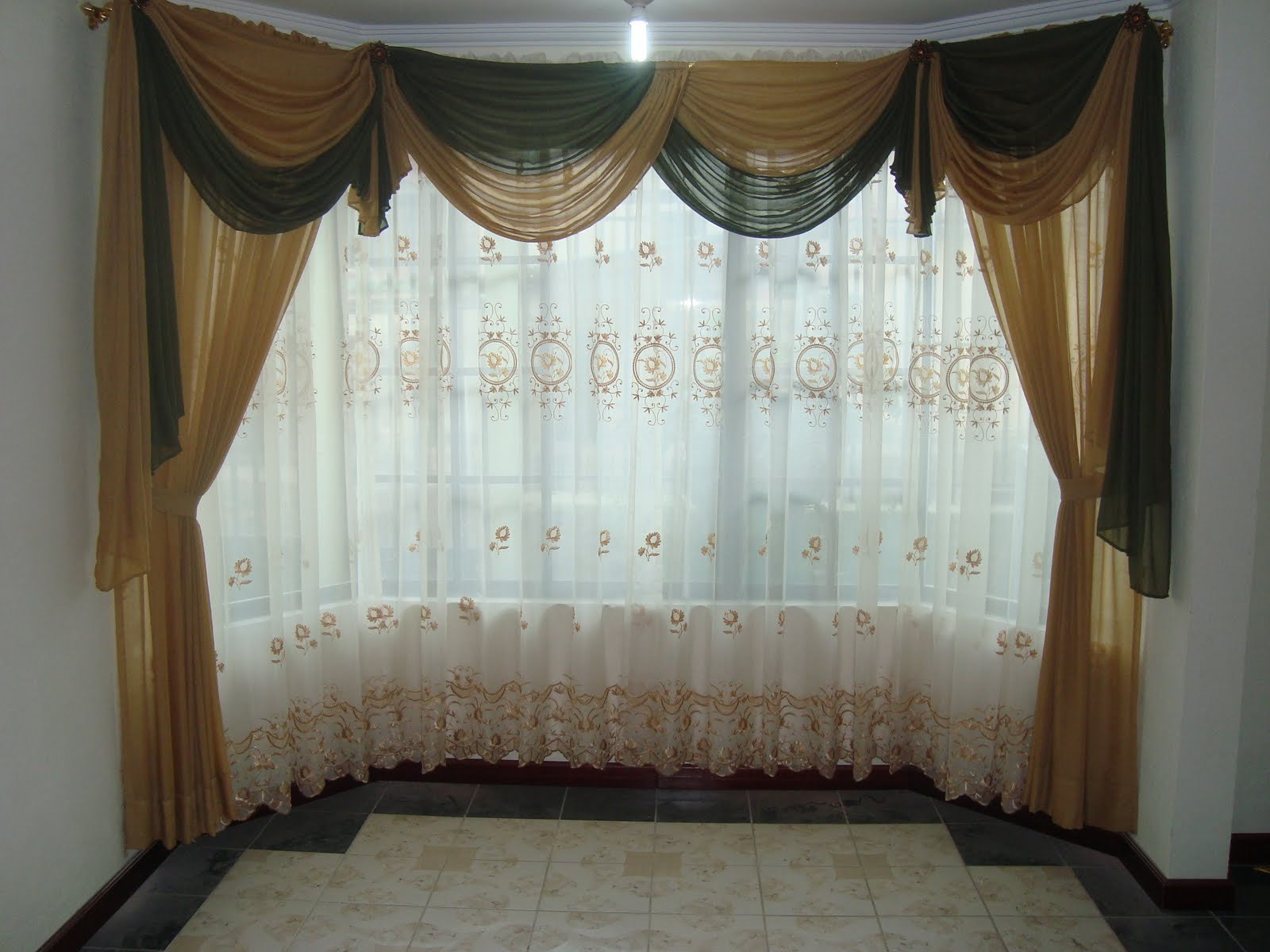 Cortinas y Decoraciones Diseos de cortinas