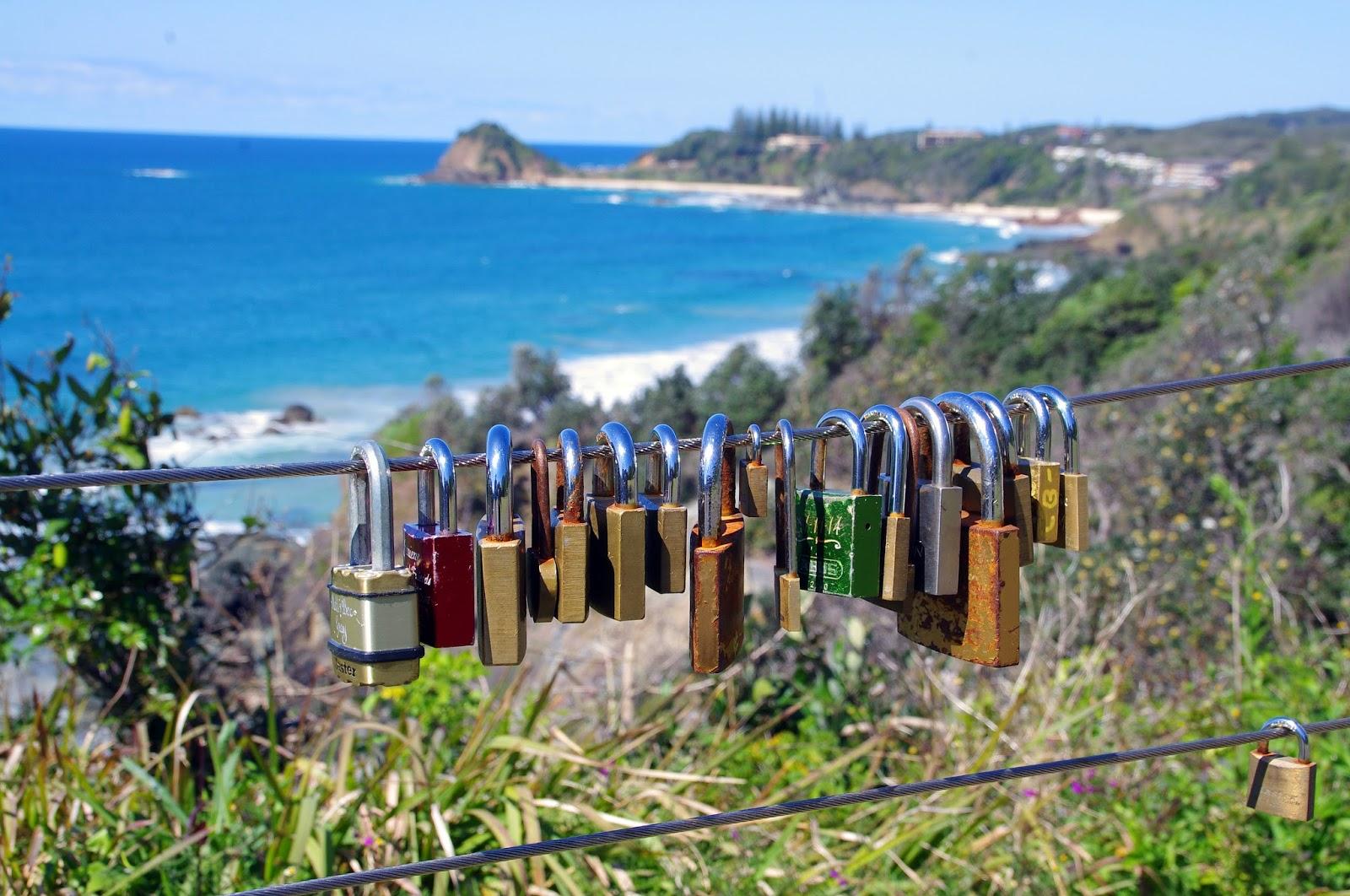 love locks in port macquarie