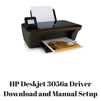 HP Deskjet 3056a Driver Download and Manual Setup