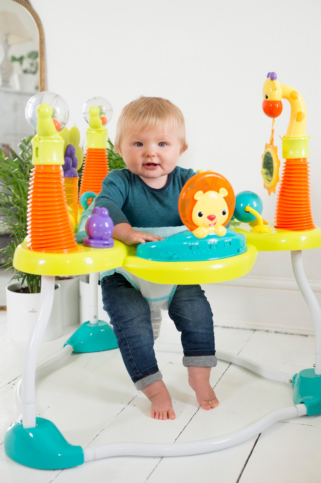 a1119a19f Bright Starts activity jumper in association with Mothercare