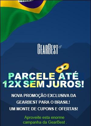 GearBest parcela em 12x