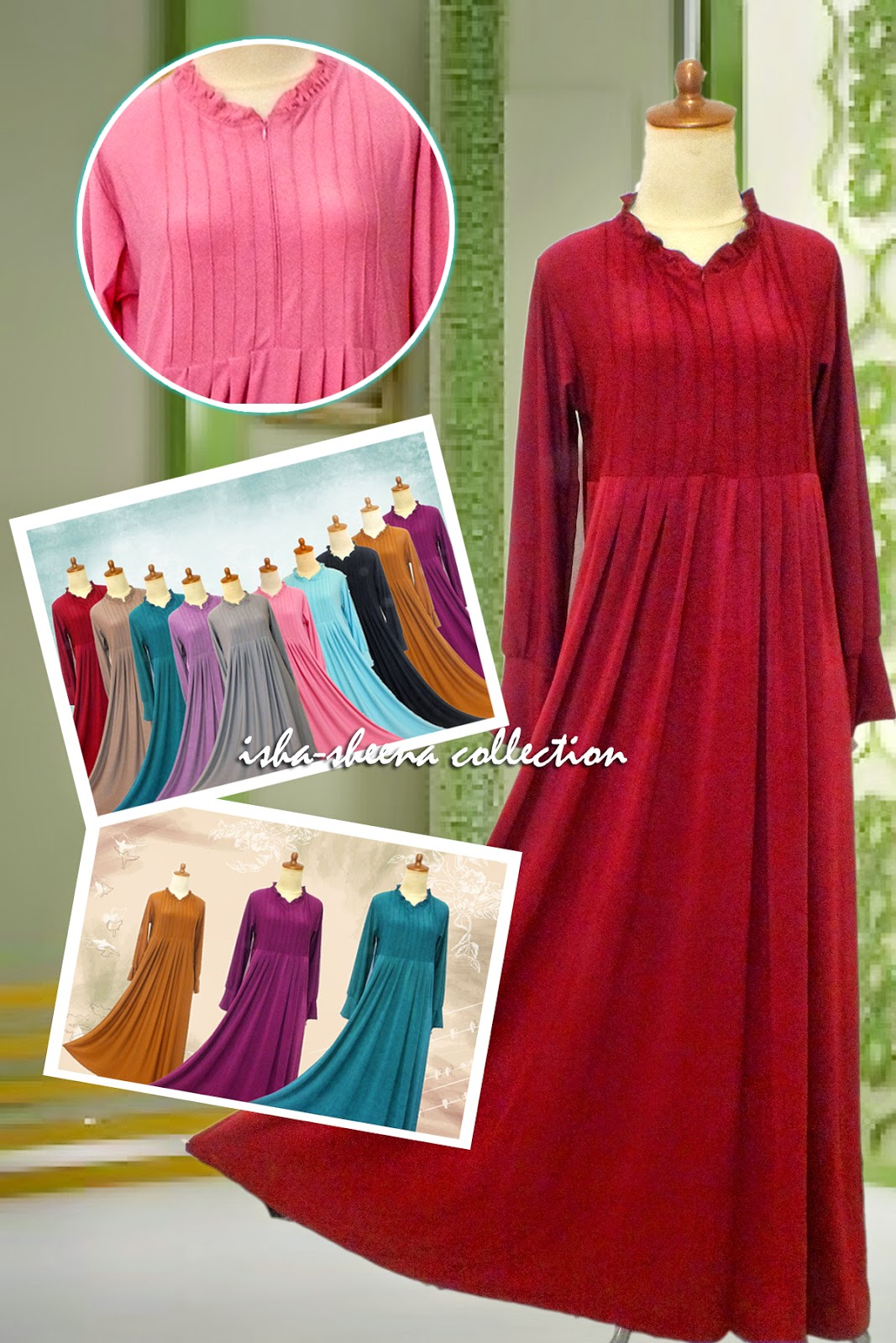 Gamis Jersey Rempel Sheena Collection